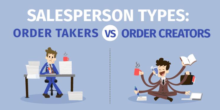 order taker vs order creator