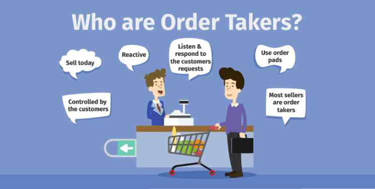 who are order takers